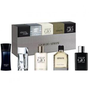 Giorgio Armani 5 Pc Travel Exclusive The Men'sCollection