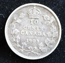 CANADIAN SILVER 1903 DIME TRENDING $110+