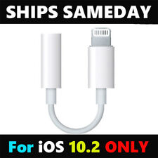 For iPhone 7 7Plus Up To 10.2 Version 3.5mm Female AUX Headphone Jack Adapter