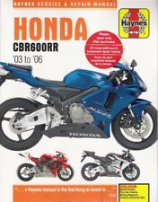 2003 - 2006 Honda CBR600RR Service Repair Maintenance Manual Guide Book 0020