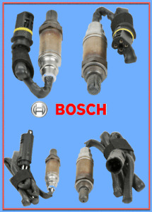 4 Oxygen Sensors OEM BOSCH Upstream/Downstream for BMW Range Rover