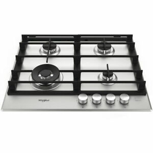 Whirlpool GMW6422/IXL Built-In Stainless Steel 60cm Gas Hob - 2 Year Warranty