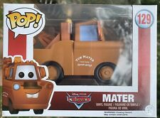 Disney Pixar Cars - Mater #129 Funko Pop Vinyl New in Box +PROTECTOR