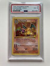 1999 Pokemon 1ST EDITION Charizard Base Set PSA 4 VG-EX Shadowless Thick Stamp
