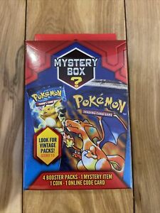 New Sealed Pokemon Mystery Power Boxes! Walgreens Exclusive! Vintage Pack 1:5!