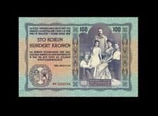 1914 AUSTRIA 100 KRONEN ~TEST NOTE~ **RARE** (( GEM UNC ))