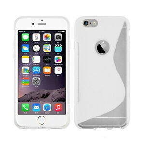 For Apple iPhone 5S 5 Gel Case Swerve & Line Silicone Cover - ORANGE