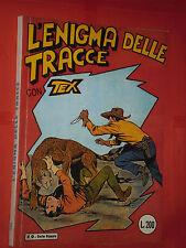 TEX  WILLER GIGANTE N°1/29 -N° 9-L' ENIGMA DELLE TRACCE-PUBBLICAZIONE AMATORIALE