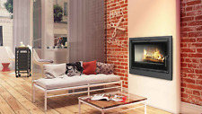 FIREPLACE INSERT ARKE 80 WOOD BURNING CASSETTE INSET STOVE FAN ASSISTED