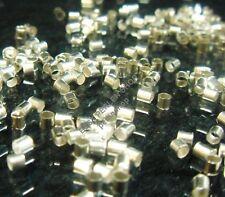 1000 Quetschperlen 2mm Silber Crimps Metall Endperlen Schmuck MODE M17#4