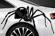 2x Spider Spinnen Autoaufkleber Seitenaufkleber 60cm Tuning SpiMan Tribal Tattoo