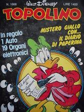 Topolino n°1668 [G.276] - BUONO –