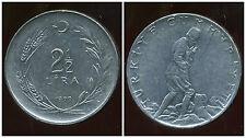 TURQUIE   2 1/2  lira 1979