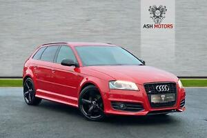 AUDI A3 SPORTBACK TDI S LINE ** RESERVED ** 2010 Diesel Manual in Red