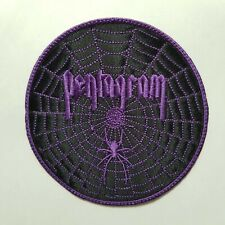 PENTAGRAM (purple logo)EMBROIDERED  PATCH