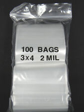 Lot of 100 Ziplock SEALABLE - 3