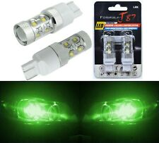 LED Light 50W 7440 Green Two Bulbs Rear Turn Signal Replace Lamp Fit Show