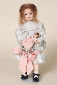 Carola #4/25 porcelain art doll by Veronica Mussoni - Orig: $2000