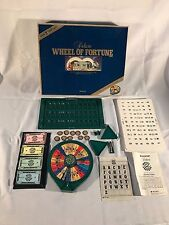 Vintage Wheel of Fortune Deluxe Game by Pressman 1986 2nd Edition Near Complete