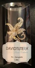 New In package~ David Tutera Bridal Collection Rhinestone Pin Brooch Dt1306183G