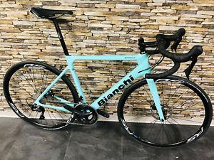 Bici de Carreras de Carbono Bianchi Sprint Disc 105 2020 Tamaño 47