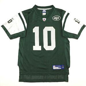 New York Jets Youth Jersey Chad Pennington #10 Reebok NFL On Field Kids Size L