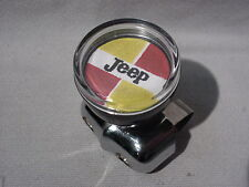 VINTAGE STYLE JEEP JEEPSTER SUICIDE STEERING WHEEL SPINNER KNOB