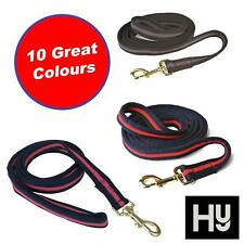 Hy Soft Webbing Lead Rein without Chain for Horses Various Colours