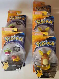 Pokémon Action Figure Alolan Raichu, Bounsweet Pikachu
