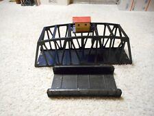 S SCALE AMERICAN FLYER #581 AFL GIRDER BRIDGE AND #750 TRESTLE BRIDGE