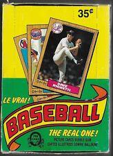 1987 O-Pee-Chee Baseball Wax Box Guaranteed Unsearched (36 ct)