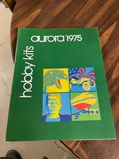 Vintage 1975 Aurora Hobby Kits Retailers Catalog, Monsters,Figures,Military ++++