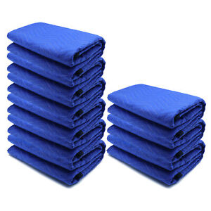 72x80 9PCs Thick Furniture Moving Packing Blanket For furniture Pads