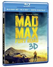 MAD MAX - FURY ROAD 3D (BLU-RAY 3D + 2D) con Tom Hardy, Charlize Theron
