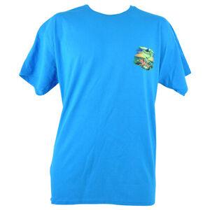 Group Therapy Sharks Drinks Tropical Fishing Beach Shirt Tshirt Tee Blue