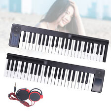 88-Key Folding Piano Bluetooth Digital Smart Electronic Organ with Speaker+Bag