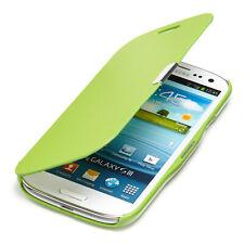Samsung Galaxy S3 Hülle Tasche Flip Case Schutz Hülle Etui Book Slim Cover Grün