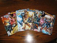 Dc - Terror Titans 1 - 6 Complete Mini-Series Set! 2008 Vf+