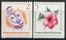 Papua New Guinea 1981 SG#406-7 Native Mask MNH Set #A83443