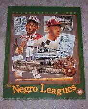 Kansas City Monarchs/Negro Leagues - Satchel/Buck - 8-1/2 x 11 Poster- Excellent