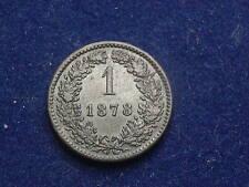 """1 Kreuzer 1878  Franz Josef  """" Erhaltung """" W/15/732/A"""