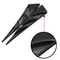 2x Car Decor Air Flow Intake Scoop Bonnet Simulation Vent Cover Hood Universal