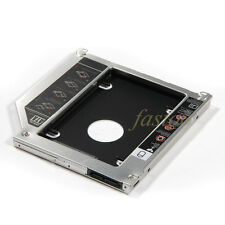 """2nd 9.5mm SSD HDD Caddy Enclosure Optibay for Macbook Pro 13"""" 15"""" 17"""" SuperDrive"""