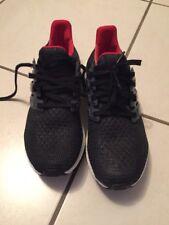 """Adidas Ultraboost Gr. 40 """"custumized"""" black / grey / red"""