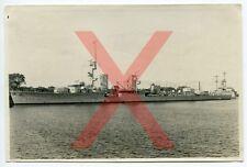 KREUZER KARLSRUHE, orig. Foto, 11,7x17,5cm, Wilhelmshaven, 1930, light cruiser