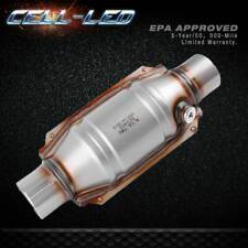 Stainless Steel 2 Inletoutlet Catalytic Converter Universal Fit Epa Approved