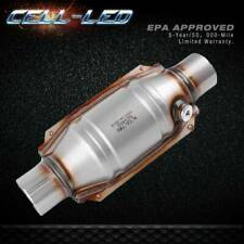 """Catalytic Converter Universal 2"""" Inlet/Outlet O2 Port with Heat Shield EPA OBDII"""