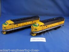 EE 3062 4062 VG Rio Grande Marklin HO American Diesel F7 Locomotive and Dummy