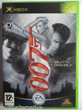 Jeu 007 JAMES BOND QUITTE OU DOUBLE sur microsoft XBOX francais action TBE #1