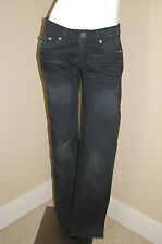 ROCK&REPUBLIC Black Costello Straight Leg 5 Pocket Styling Jeans~Size 29~